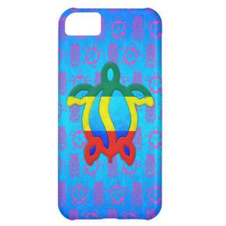 Rasta Honu iPhone 5C Cases