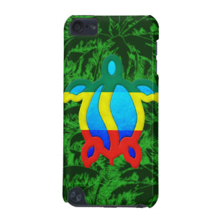 Rasta Honu Palm Trees iPod Touch 5G Cover