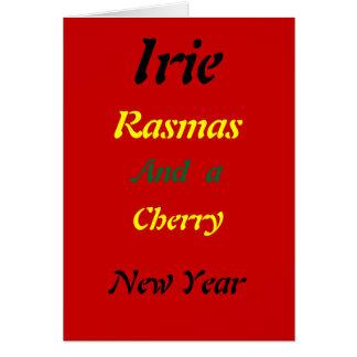 Rasta  irie christmas cards