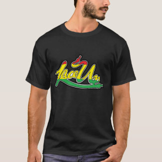 Rasta Lace Up T-Shirt