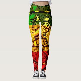 Rasta Leggings Lion of Judah Design