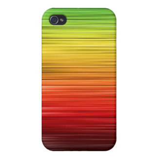 Rasta Lined Iphone 4 Case