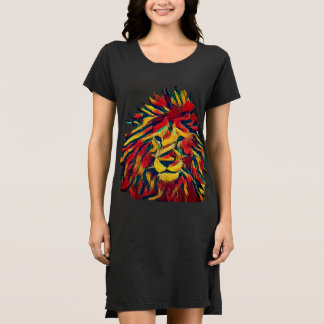 Rasta lion dress