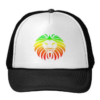 Rasta Lion Head Trucker Hat