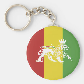 Rasta Lion Key Chain