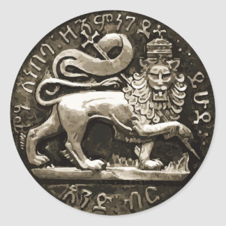 Rasta Lion of Judah Ancient Sticker Design