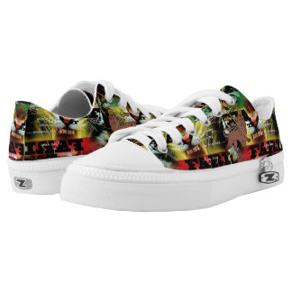 Rasta Lion of Judah Rastafari Slip-on Shoe