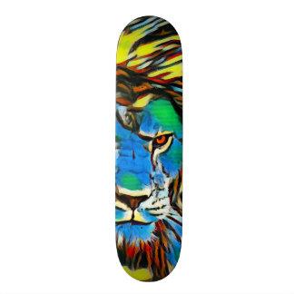 Rasta Lion Zero Element Custom Pro Banger Board Skateboard
