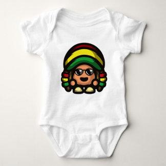 Rasta Mushroom Baby Bodysuit