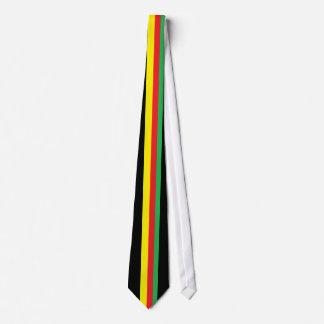 rasta necktie
