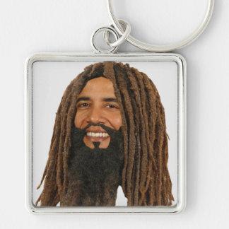 Rasta Obama, Rasta Bama for President 2012 Keychain