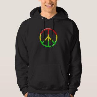 Rasta Peace Hoodie