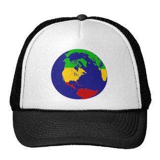 Rasta Planet Earth Trucker Hat