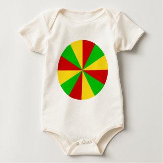 Rasta Rays Baby Bodysuit