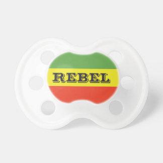 Rasta Rebel Flag Baby Pacifier