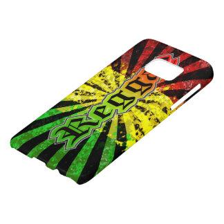 rasta reggae graffiti flag samsung galaxy s7 case