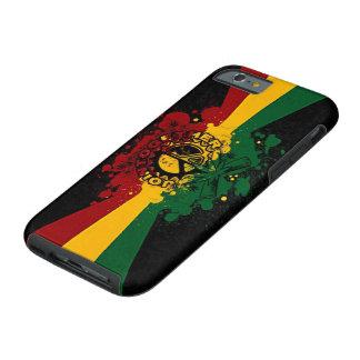 rasta reggae graffiti music art tough iPhone 6 case