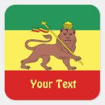 Rasta Reggae Lion of Judah Sheets of Stickers