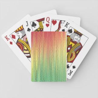Rasta Reggae Playing Cards