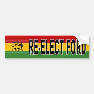 Rasta Rob Ford Re-election Bumper Sticker