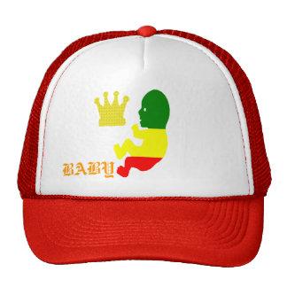 RASTA ROYAL BABY TRUCKER HAT