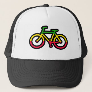 RASTA RYDA BIKE TRUCKER HAT