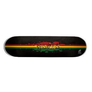 Rasta Skate Board