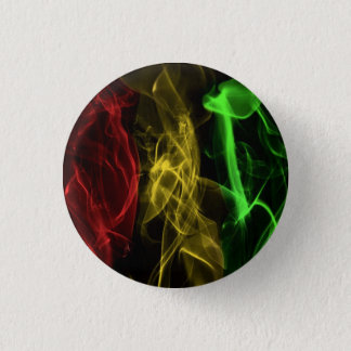 rasta smoke 1 inch round button