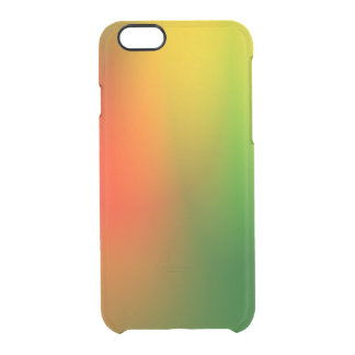 Rasta Splash of Color Clear iPhone 6/6S Case