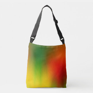 Rasta Splash of Color Crossbody Bag