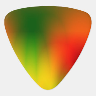 Rasta Splash of Color Guitar Pick