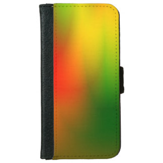 Rasta Splash of Color iPhone 6 Wallet Case
