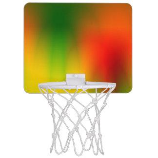 Rasta Splash of Color Mini Basketball Hoop
