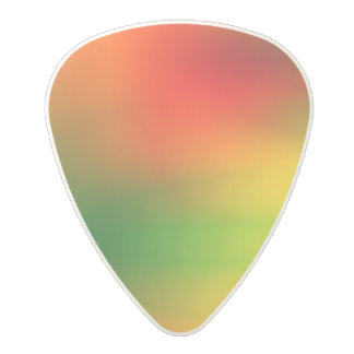 Rasta Splash of Color Polycarbonate Guitar Pick