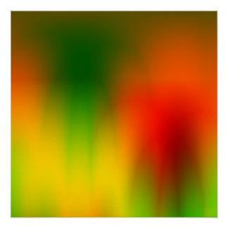 Rasta Splash of Color Poster