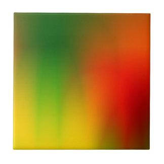 Rasta Splash of Color Tile