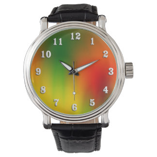 Rasta Splash of Color Watch