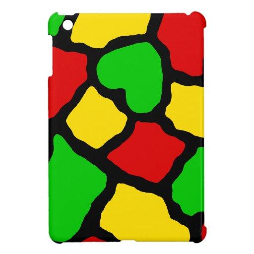 Rasta Spots iPad Mini Case