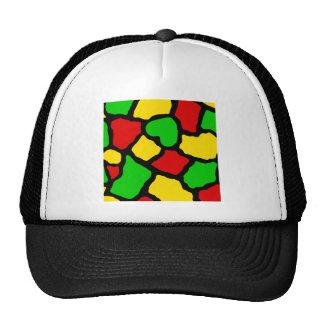 Rasta Spots Trucker Hat
