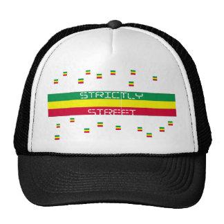 rasta strictly street trucker hat