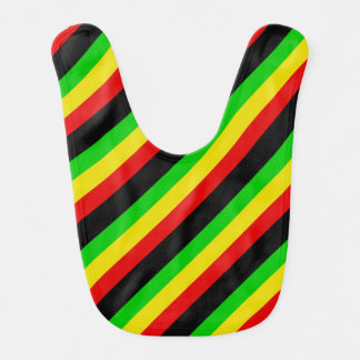 Rasta Stripes Bib