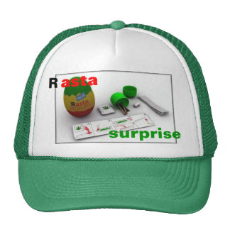 Rasta Surprise cap Trucker Hat