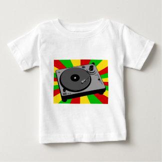 Rasta Turntable Baby T-Shirt