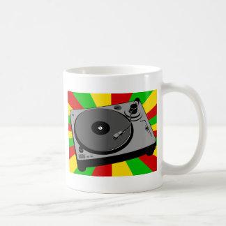 Rasta Turntable Coffee Mug