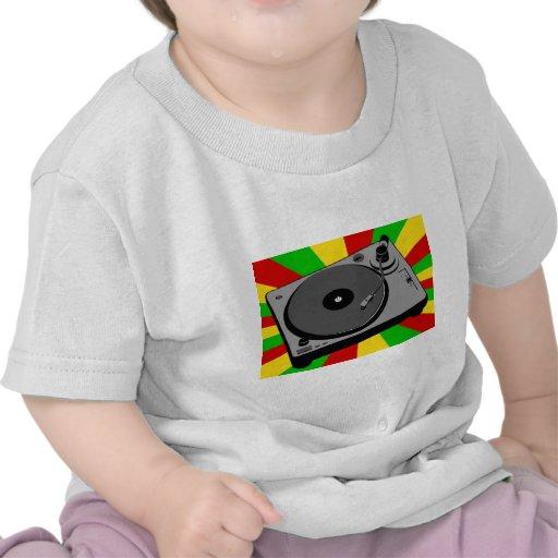 Rasta Turntable T Shirts