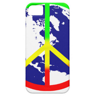 Rasta World Peace iPhone 5 Cover