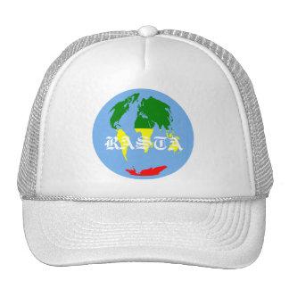 RASTA WORLD TRUCKER HAT