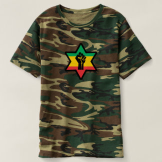 Rastafara power - Jah Army Bless - Reggae shirt