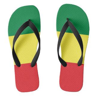 Rastafara power - Rasta - Reggae Flip flop