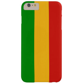 RASTAFARI FLAG COLORS + your ideas Barely There iPhone 6 Plus Case